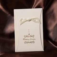 Stile classico Wrap & Pocket Invitation Cards con Nastri (Set di 50) (114032385)