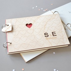 Personalized design Wood Guestbook (101198168)