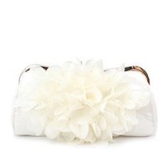 Gorgeous Satin/Chiffon Clutches (012006681)