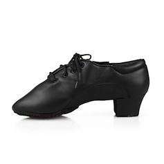 Leatherette Flats Ballroom Dance Shoes (053013129)