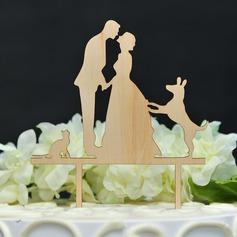 Balli di coppia/It Must Be Love Legno Decorazioni per torte (119157011)