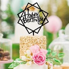 Buon compleanno Acrilico Decorazioni per torte (119154792)