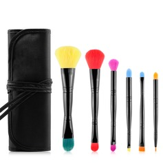 Artificial Fibre Fashion 6Pcs Makeup Supply (046074619)