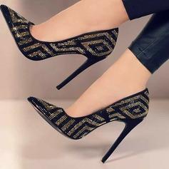 Donna Similpelle Tacco a spillo Stiletto Punta chiusa con Altrui scarpe (085171511)