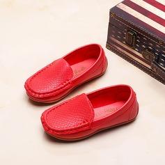 Mädchens Geschlossene Zehe Slipper & Slips Leder Flache Ferse Flache Schuhe (207112558)
