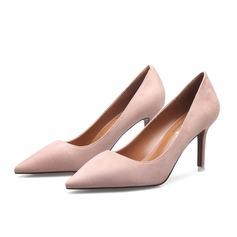 Frauen Kunstleder Stöckel Absatz Absatzschuhe Schuhe (085103023)