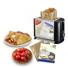 personnalisé Traite des sacs à griller réutilisables sans bâche pour le sandwich et le grillage (Lot de 3) (051139882)
