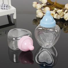 Creativo/Bella A forma di cuore Plastica Barattoli e Bottiglie (set di 12) (050166447)