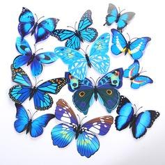 3D/DIY Sticker PVC Farfalla/Accessori decorativi (Set di 12) (131058165)