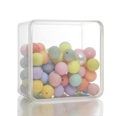 Semplice Cubi Plastica Barattoli e Bottiglie (set di 12) (050168353)
