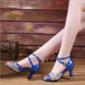 Femmes Similicuir Pailletes scintillantes Talons Latin avec Boucle Chaussures de danse (053102960)