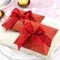 Klassisch Kissen Geschenkboxen mit Bänder (Satz von 12) (050028293)