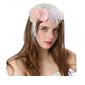 Ladies ' Smukke/Gorgeous/Efterspurgte/Særlige Linned med Blomst Fascinators (196139407)