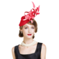 Ladies' Special Summer Cambric With Feather Fascinators (196075640)