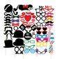 Photos des cabines accessoires Carte papier (58 pièces) Drôle de masque Photos des cabines accessoires Décorations de mariage (131085898)