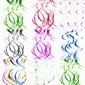 Simple/Estilo clásico/Niza Pretty PVC Ornamentaciones de Boda (juego de 5) (131174291)