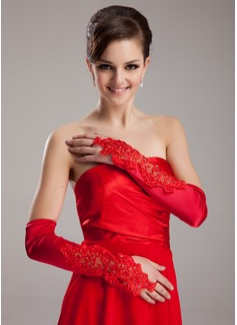 Spandex Opera Length Bridal Gloves (014020470)