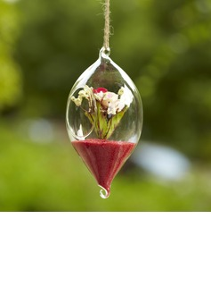 Hanging Olivary Glass Vase (128035823)