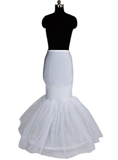 Women Nylon/Tulle Netting Floor-length 1 Tier  Petticoats (037004194)