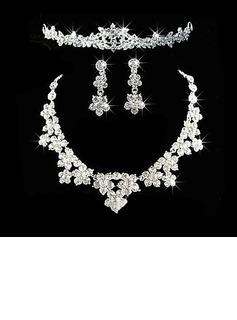 великолепный сплав с горный хрусталь женские Комплекты ювелирных изделий (011026642)