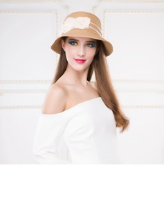 Ladies' Eye-catching Papyrus Straw Hats (196075385)