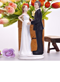 Baby On The Way Resin Wedding Cake Topper (122036163)