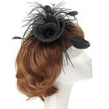 Eye-catching Net Yarn/Feather Flowers & Feathers (042057222)