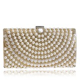 Charming Polyester/Imitation Pearl Clutches/Minaudiere (012200325)
