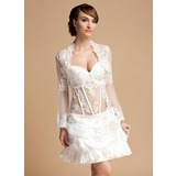 Lace Tulle Special Occasion Wrap (013014887)