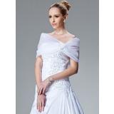 Lace Organza Wedding Wrap (013004167)