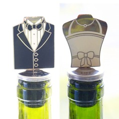 Groom and Bride Bottle Stopper Party Decoration (Sold in a single piece) (052172156)