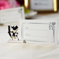Love Design Chrome Place Card Holders (Set of 4) (051025020)
