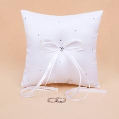 Starlight Ring Pillow in Satin With Rhinestones (103018416)