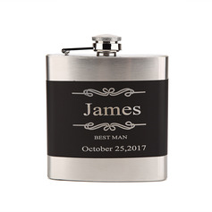 Personalized Delicate Stainless Steel Flask (118096112)